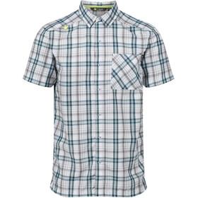 Regatta Mindano IV - Camiseta manga corta Hombre - azul/blanco
